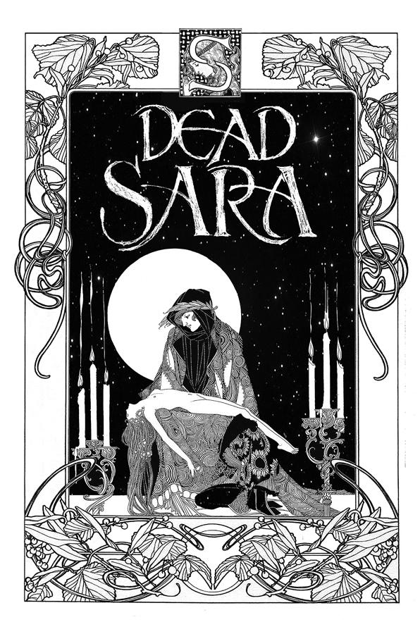 Bob Masse - Dead Sara B & W - Limited Edition #28