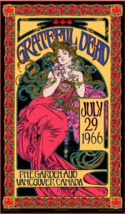 Bob Masse Greatful Dead Commemorative Poster 2017