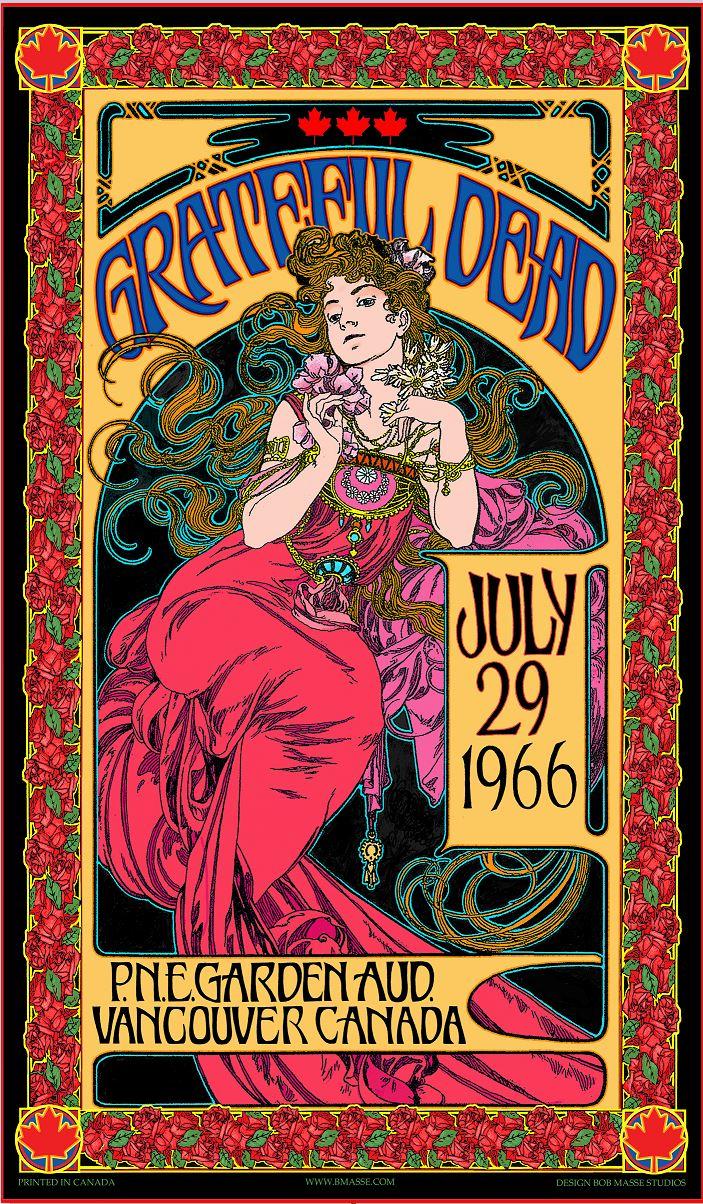 Bob Masse - Grateful Dead Commemorative Poster - Limited Edition #1