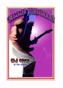 Robert Bryan DJ cMx Poster 2017 Poster Auction